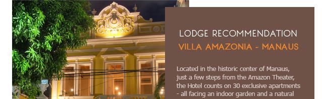 Villa Amazonia Lodge Gondwana Brazil