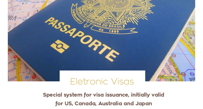 Eletronic Visas Brazil